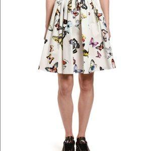 GIRLS dolce & gabbana butterfly skirt